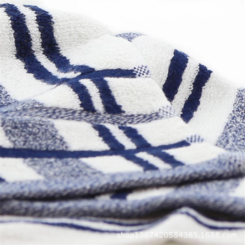 新款怡洁纯天然优质竹纤维毛巾|100g缎档彩条毛巾