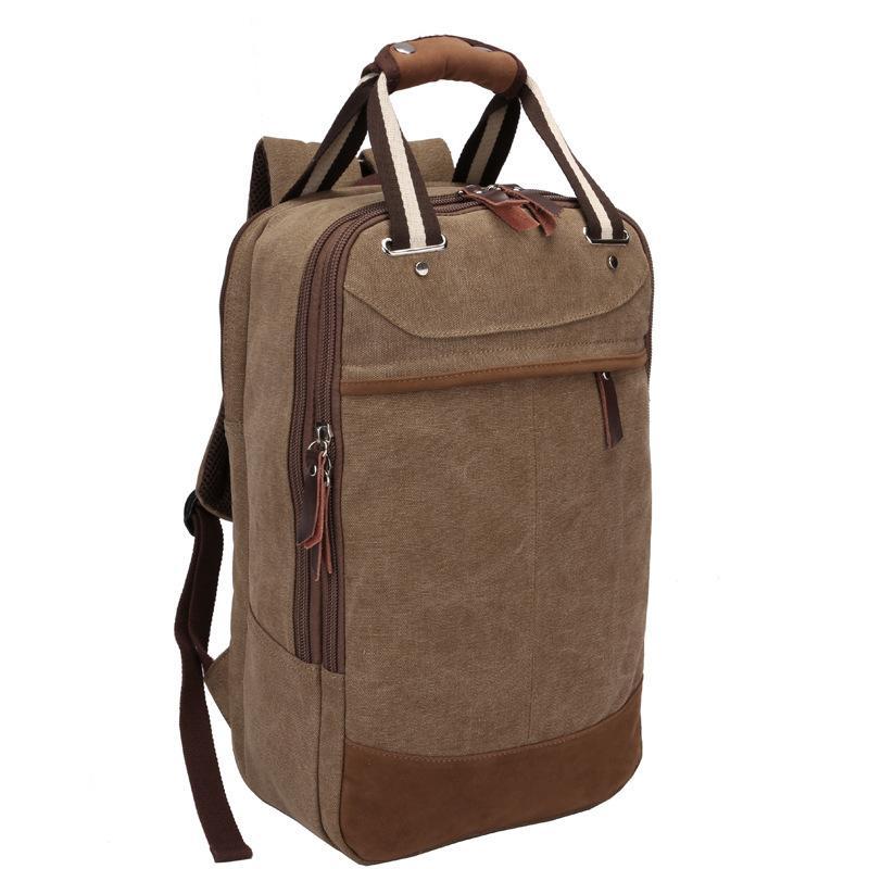 【供用】男士帆布包-双肩手提包-运动旅行休闲时尚户外包