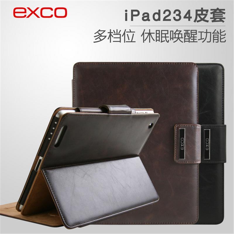 EXCO苹果iPad-2/3/4平板PU皮革套
