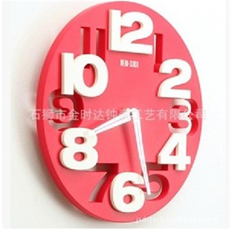 时尚挂钟|Stereo|3D|Digital|Wall|Clocks
