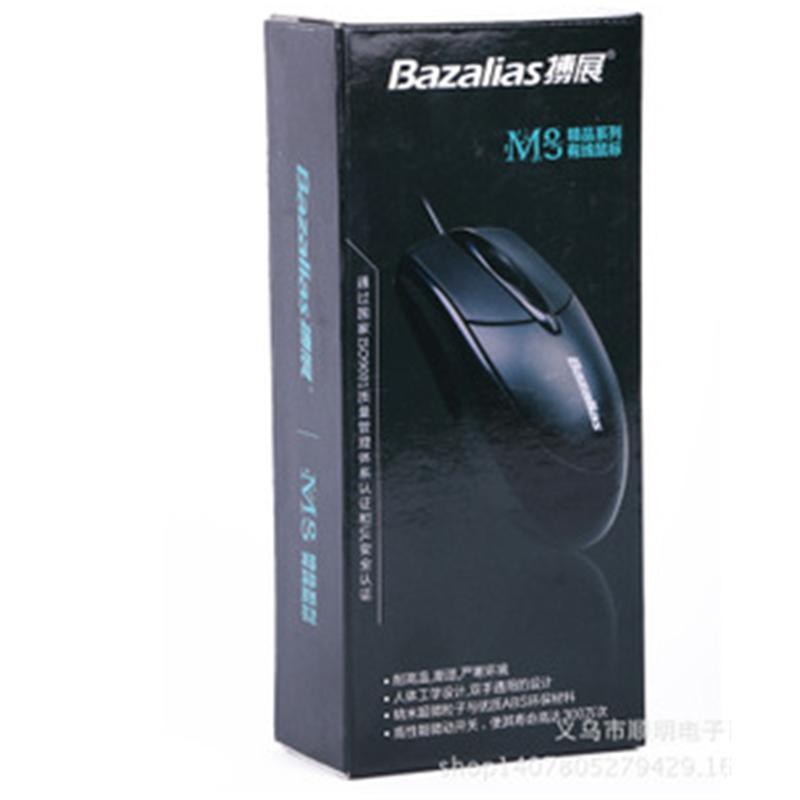 高性能耐磨USB鼠标-光电环保有线鼠标