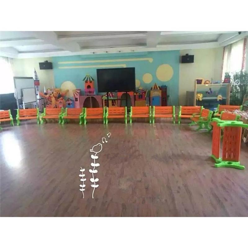 【直销】幼儿园双人休闲椅-塑料材质-功能-参数-图片