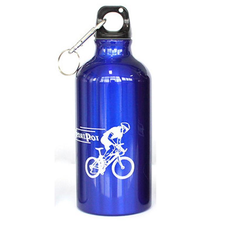 山地车骑行折叠水袋-铝合金户外运动壶-学生用杯