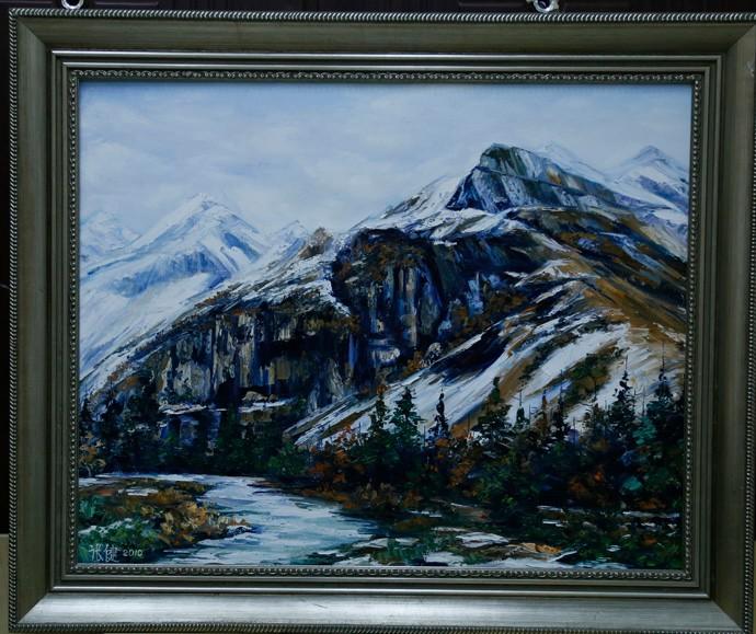 《青藏雪山》
