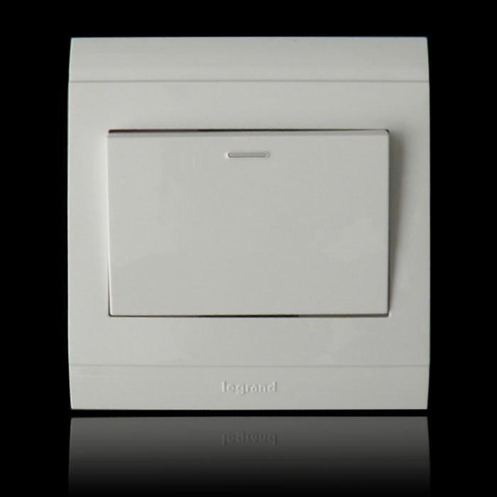 TCL开关插座 86型墙壁开关插座面板 单控开关