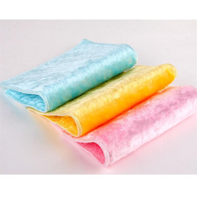 直销韩国神奇木纤维亮丝洗碗布|不沾油洗碗巾