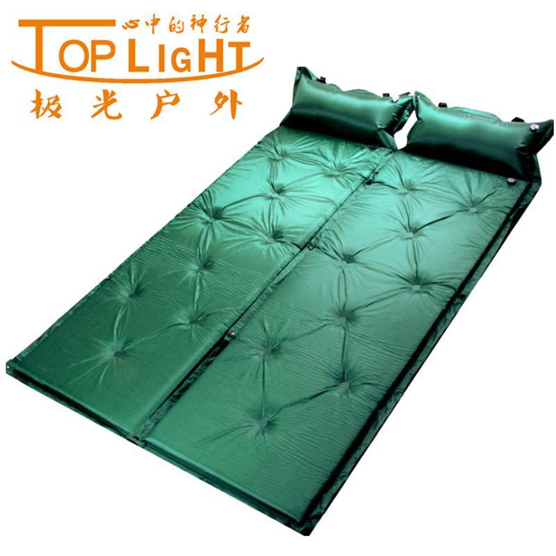 【批发】自动充气垫-可拼接双人-户外帐篷防潮垫