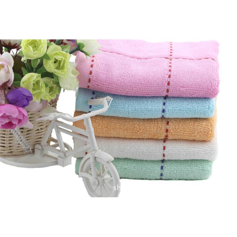 怡洁70g彩格毛巾|超细纤维毛巾|日用品抗菌毛巾