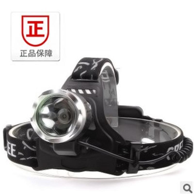 【供用】led充电式-远射头灯-夜钓-矿灯-狩猎灯-户外防水