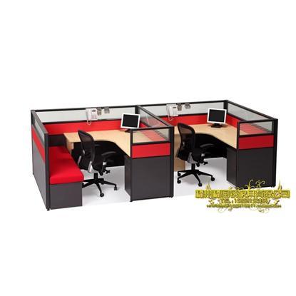 定制福州办公家具屏风卡位|屏风多人位|屏风职员桌|新款屏风桌